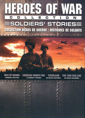 Heroes Of War Collection Soldier's Stories (Men Of Honor/ Courage Under Fire..) (Bilingual)(Boxset)