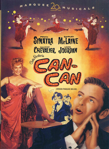 Can-Can (Bilingual) DVD Movie