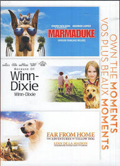 Marmaduke / Because of Winn Dixie / Far From Home (Bilingual) (Boxset)