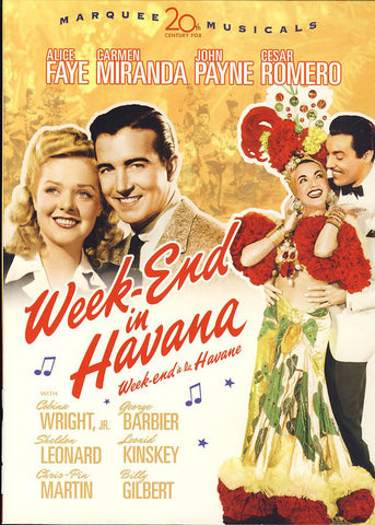 Week-end In Havana (Week-end a la Havane) (Bilingual) DVD Movie