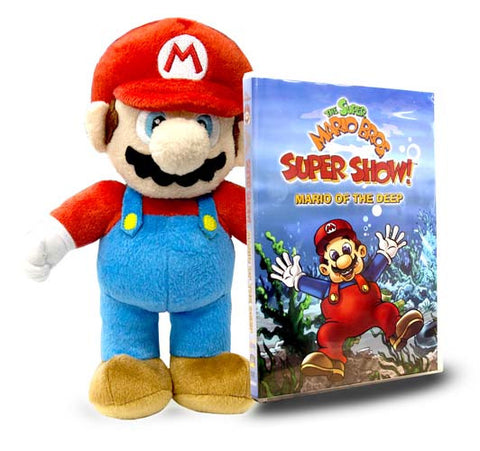 Super Show! - Mario Of The Deep (Includes Super Mario - Mario Plush) DVD Movie