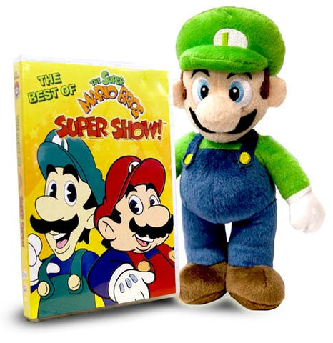 Best of Super Mario - Super Show! (Includes Super Mario - Luigi Plush) DVD Movie