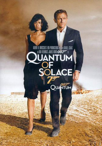 Quantum of Solace (Bilingual) DVD Movie
