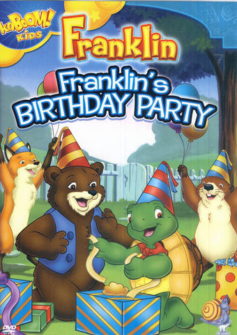 Franklin - Franklins Birthday Party DVD Movie