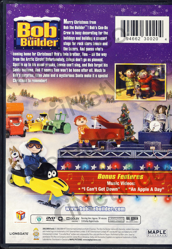 bob the builder a christmas to remember the movie dvd movie - Bob The Builder A Christmas To Remember