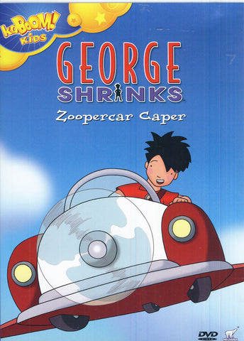 George Shrinks - Zoopercar Caper DVD Movie