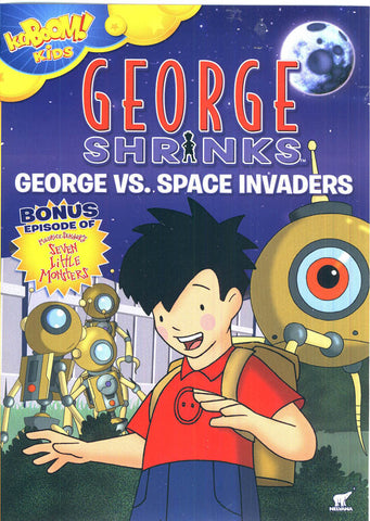 George Shrinks - George Vs Space Invaders 3 DVD Movie