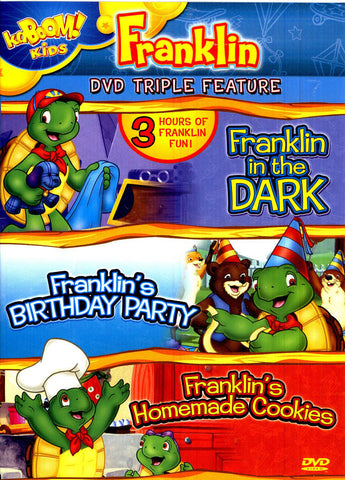 Franklin in the Dark/Franklin s Birthday Party/Franklin s Homemade Cookies DVD Movie