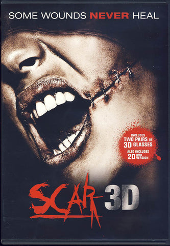 Scar 3D / 2D (Incl. 2 pairs of 3D Glasses) DVD Movie