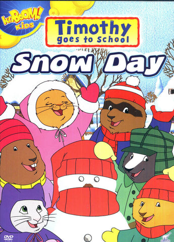 Timothy Goes to School - Snow Day DVD Movie