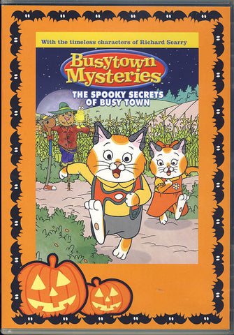 Busytown Mysteries - The Spooky Secrets of Busy Town DVD Movie