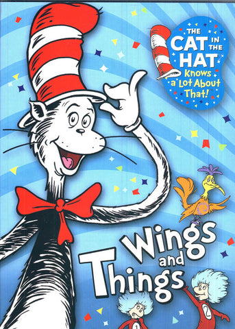 Cat in the Hat Knows a Lot About That - Wings And Things DVD Movie