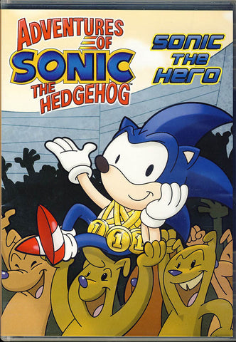 Adventures Of Sonic The Hedgehog - Sonic the Hero DVD Movie