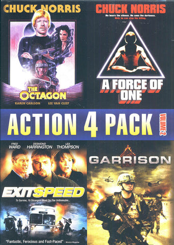 Action 4 Pack - Volume 2 DVD Movie