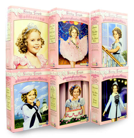 Shirley Temple - America's Sweetheart - Six Mega Pack Collection - (Volume 1 - 6) (Boxset) DVD Movie