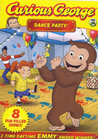Curious George: Dance Party DVD Movie