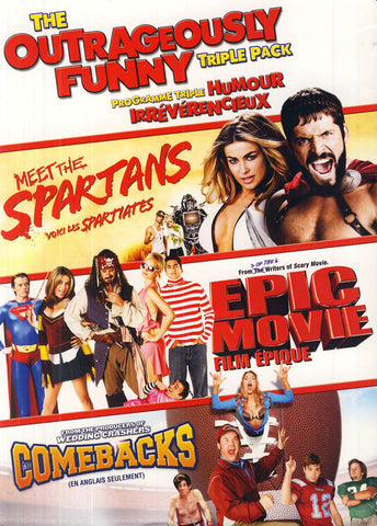 Outrageously Funny Triple-Pack (Meet The Spartans/ Epic Movie/..) (Bilingual) (Boxset) DVD Movie