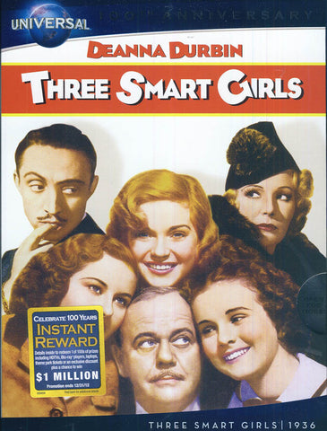 Three Smart Girls (Universal s 100th Anniversary) (Slipcover) DVD Movie