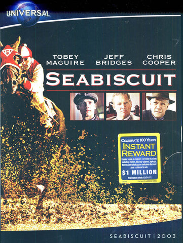 Seabiscuit (Widescreen Edition) (Universal's 100th Anniversary)(Slipcover) DVD Movie