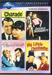 Charade / Double Indemnity / Pillow Talk / My Little Chickadee (Screen Couples)