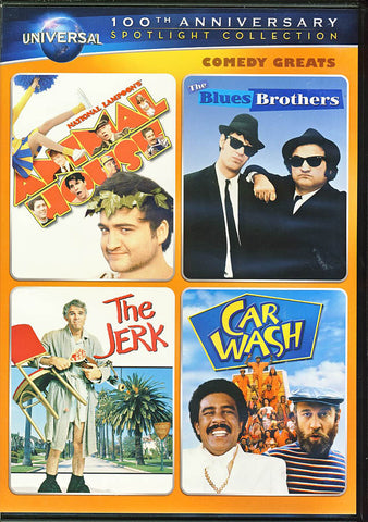 National Lampoon s Animal House/The Blues Brothers/The Jerk/Car Wash (Universal s 100th Ann.) DVD Movie