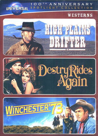 High Plains Drifter/ Destry Rides Again/ Winchester73 (Universal s 100th Anniversary) (Boxset) DVD Movie