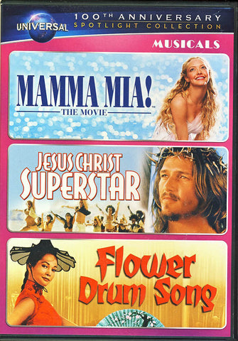 Mamma Mia! The Movie/Jesus Christ Superstar/Flower Drum Song (Universal s 100th Anniversary) (Boxset DVD Movie