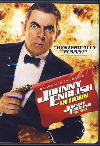 Johnny English Reborn (Bilingual) DVD Movie