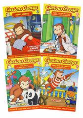 Curious George Collection (Sweet Dreams/Goes to the Doctor/Zoo Nights/Sails with Pirates)(Boxset)