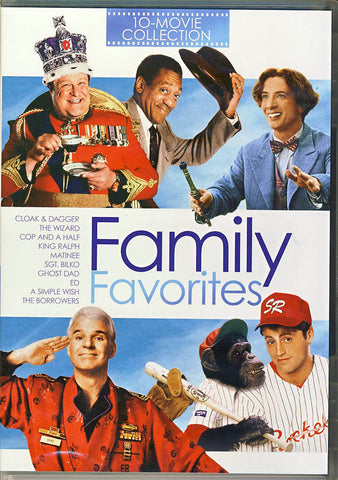Family Favorites - 10-Movie Collection (Boxset) DVD Movie
