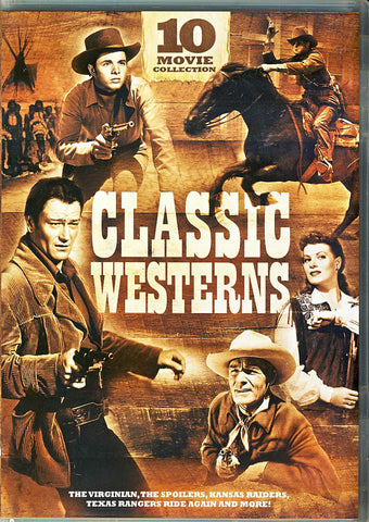 Classic Westerns - 10-Movie Collection (Boxset) DVD Movie