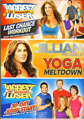 Jillian Michaels Collection (30-Day Jump Start/Last Chance Workout/Yoga Meltdown)(Boxset)