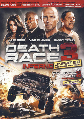 Death Race 3 - Inferno (Unrated) (Bilingual) DVD Movie