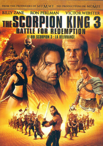 The Scorpion King 3 - Battle for Redemption (Bilingual) DVD Movie