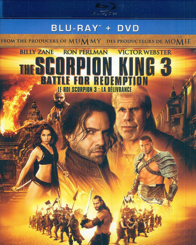 Scorpion King 3 - Battle for Redemption (Blu-ray DVD Combo) (Bilingual) (Blu-ray) BLU-RAY Movie