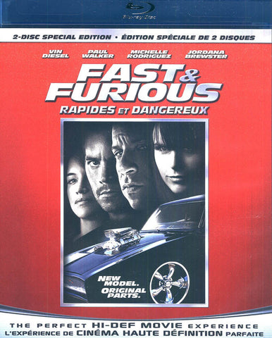 Fast and Furious (2-Disc Special Edition) (Bilingual) (Blu-ray) BLU-RAY Movie