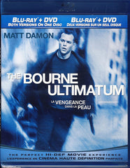 The Bourne Ultimatum (Blu-ray + DVD) (Bilingual) (Blu-ray)