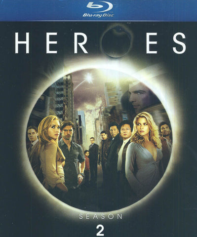 Heroes - Season Two (2) (Blu-ray) (Boxset) BLU-RAY Movie