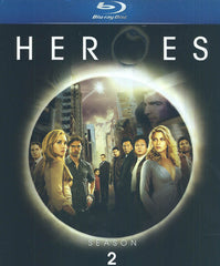 Heroes - Season Two (2) (Blu-ray) (Boxset)