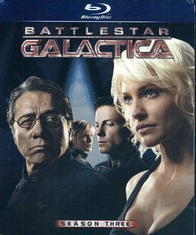 Battlestar Galactica - Season Three (Blu-ray) (Boxset) BLU-RAY Movie