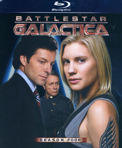 Battlestar Galactica - Season Four (Blu-ray) (Boxset) BLU-RAY Movie