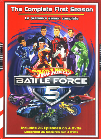 Hot Wheels - Battle Force 5- Complete First Season (Boxset) DVD Movie