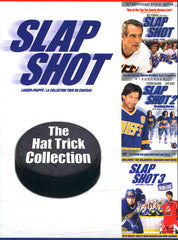 Slap Shot Hat Trick Collection - Triple Feature (Billingual) (Boxset)