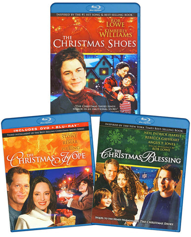 Christmas Movie Collection (3 Fabulous Movies in 1 on Blu-ray) (Blu-ray) BLU-RAY Movie