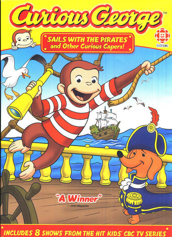 Curious George - Sails With The Pirates and Other Curious Capers! DVD Movie