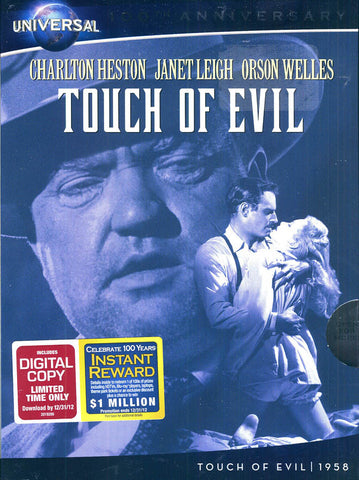 Touch of Evil (+ Digital Copy) (Universal's 100th Anniversary) DVD Movie