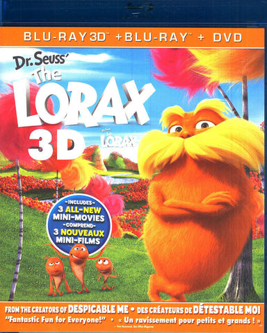 Dr. SeussThe Lorax 3D (3D Blu-ray + Blu-ray + DVD + Digital Copy) (Blu-ray) BLU-RAY Movie