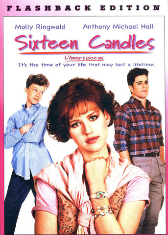Sixteen Candles (Flashback Edition)(Bilingual) DVD Movie