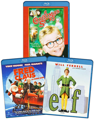 Christmas Movie Collection (3 Wonderful Movies in 1 on Blu-ray) (Blu-ray) BLU-RAY Movie
