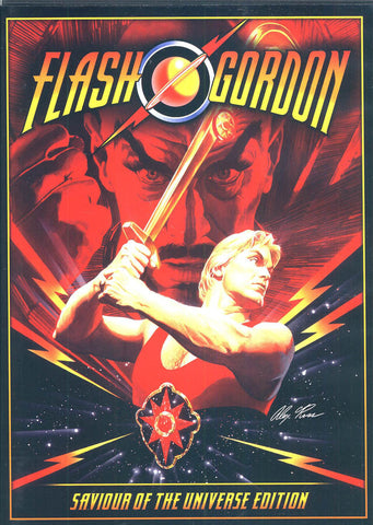 Flash Gordon - Saviour of The Universe Edition (Keep Case) DVD Movie